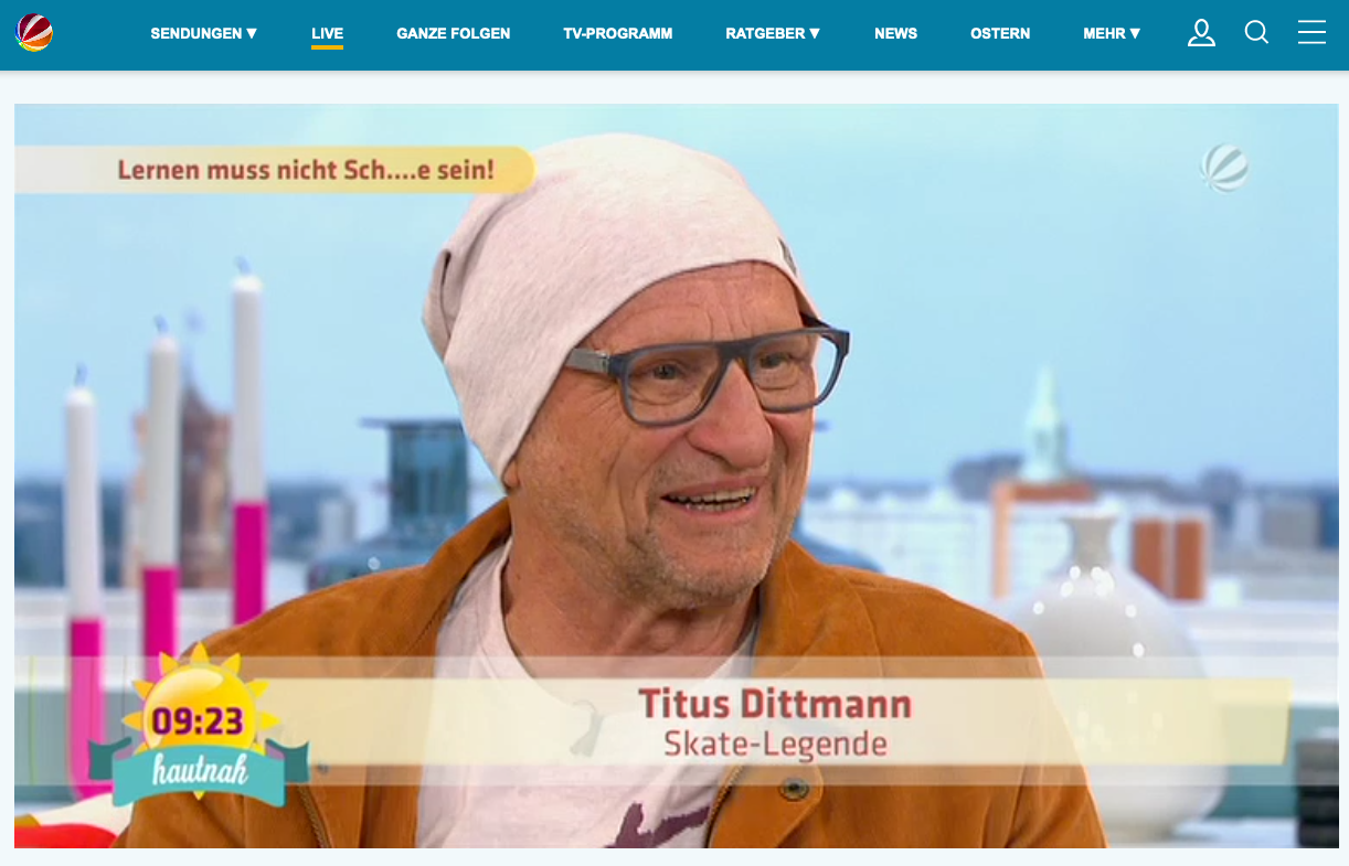 Titus im SAT.1 Frühstücksfernsehen