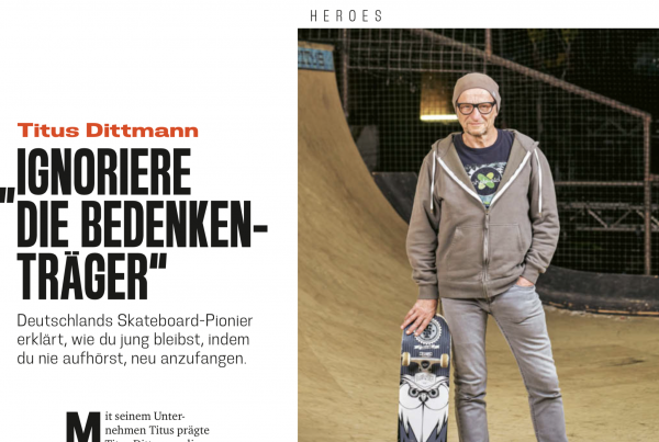 Mit Interview in der Juni-Ausgabe des Red Bulletin