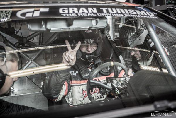 Im Cockpit beim Quali-Rennen