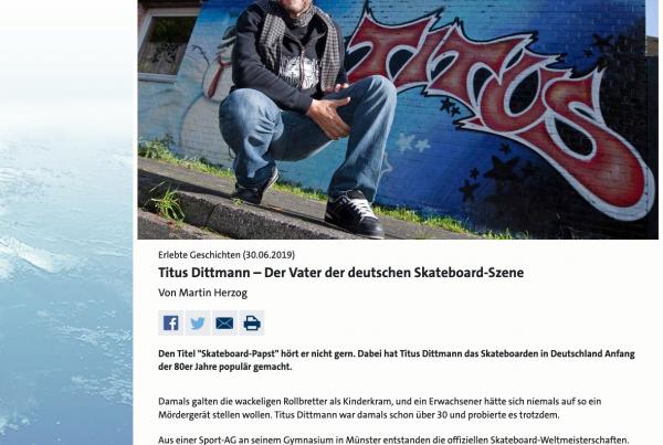 Meine erlebten Geschichten bei WDR 5