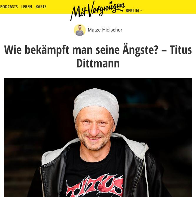 """Titus im """"Hotel Matze"""""""