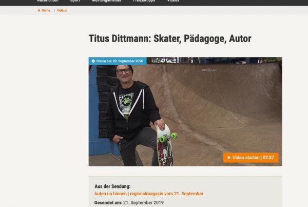"""Titus Dittmann bei """"buten un binnen"""""""