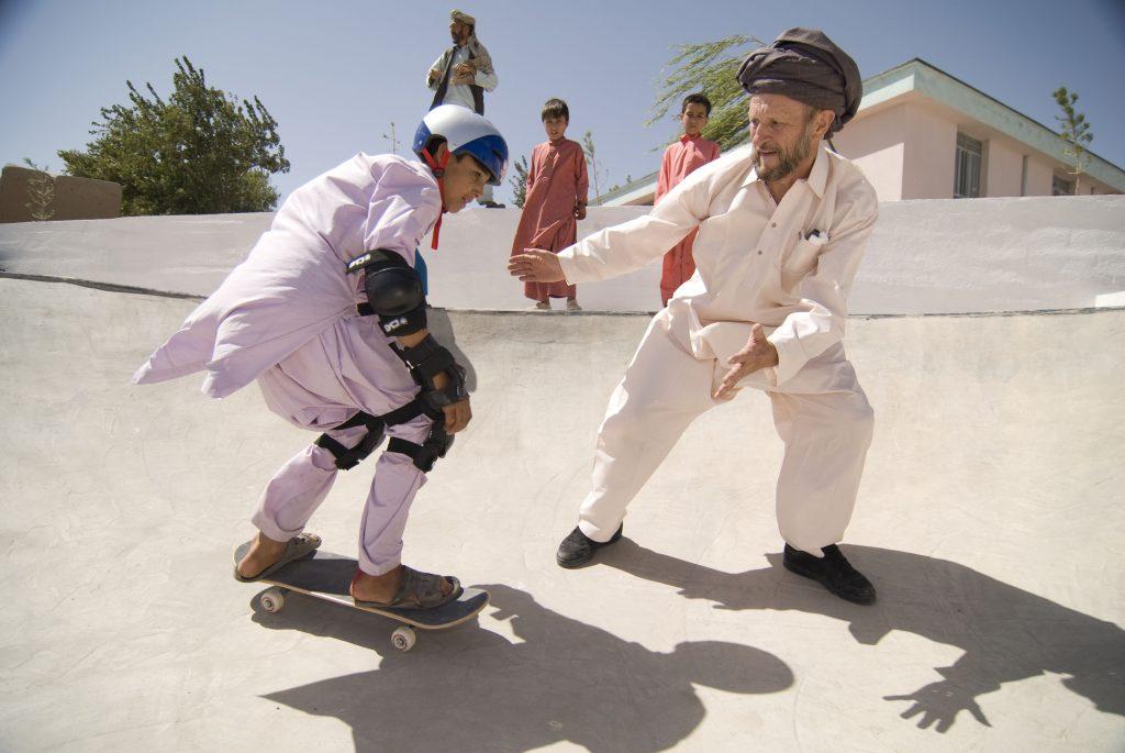 Titus im skate-aid Skatepark in Afghanistan_Credit Maurice Ressel