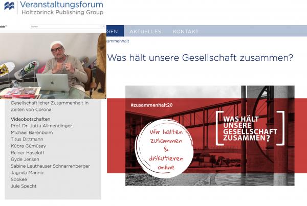 ZEIT-Stiftung: Was hält unsere Gesellschaft zusammen?