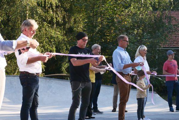 Eröffnung DIY Skatepark Handorf