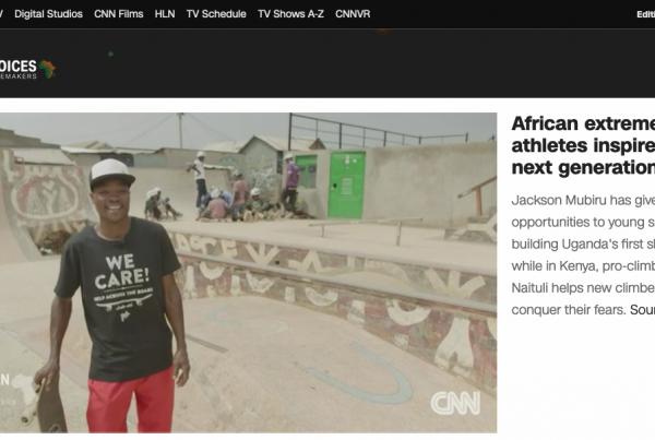 CNN African Voices über skate-aid Uganda